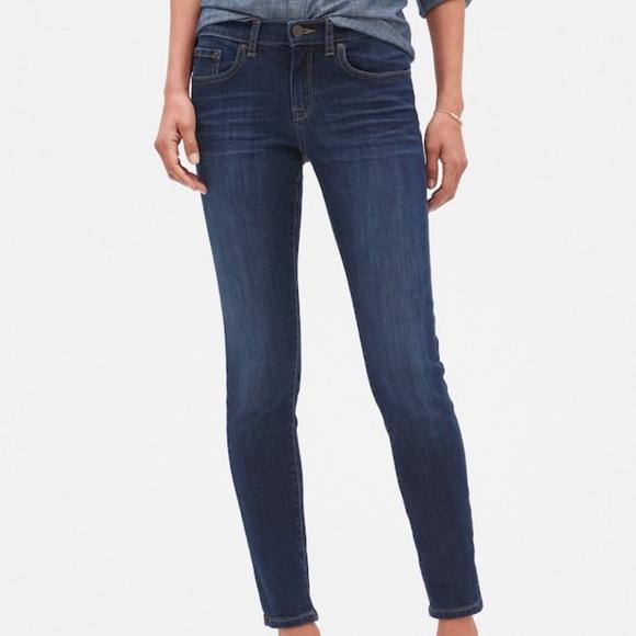 Banana Republic Denim - Banana Republic Skinny Limited Edition Ankle Jeans
